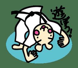 usainu (rabbit dog) : KARATE LOVE sticker #1185245