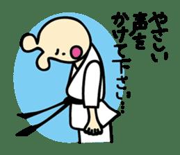 usainu (rabbit dog) : KARATE LOVE sticker #1185258