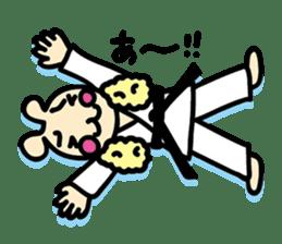 usainu (rabbit dog) : KARATE LOVE sticker #1185265