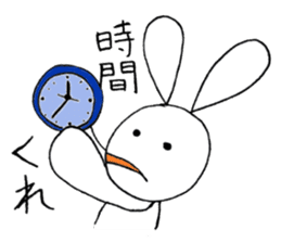 a stuffed rabbit sticker #1185441