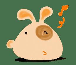 Rabbit Cawaii sticker #1185986