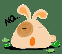 Rabbit Cawaii sticker #1185990
