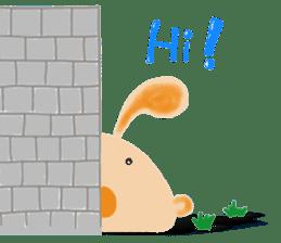 Rabbit Cawaii sticker #1185992