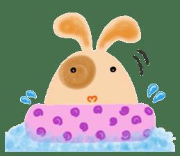 Rabbit Cawaii sticker #1186002