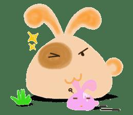 Rabbit Cawaii sticker #1186006