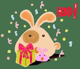 Rabbit Cawaii sticker #1186009