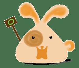 Rabbit Cawaii sticker #1186011