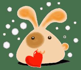 Rabbit Cawaii sticker #1186013