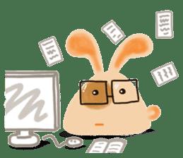 Rabbit Cawaii sticker #1186015