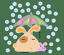 Rabbit Cawaii sticker #1186021