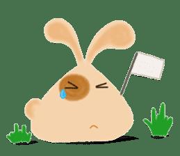 Rabbit Cawaii sticker #1186023