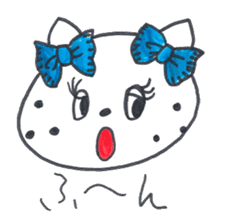 Freckle Cat sticker #1187829