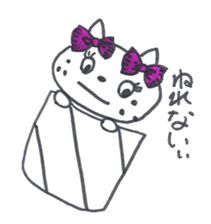 Freckle Cat sticker #1187842