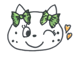 Freckle Cat sticker #1187845