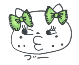 Freckle Cat sticker #1187847