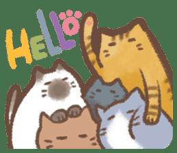 Cat weather sticker #1188146