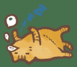 Cat weather sticker #1188149