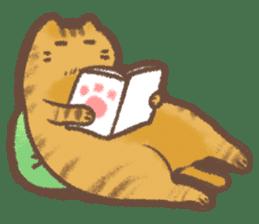 Cat weather sticker #1188152