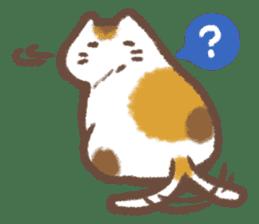 Cat weather sticker #1188154