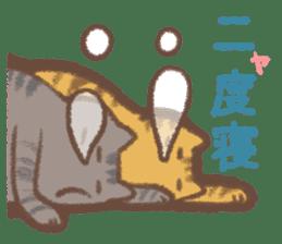 Cat weather sticker #1188159