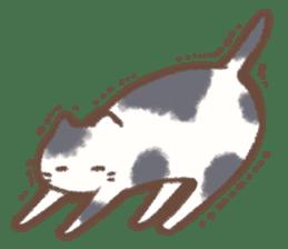 Cat weather sticker #1188164