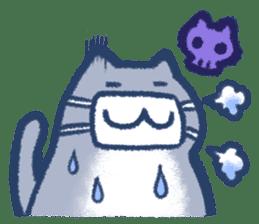 Cat weather sticker #1188168