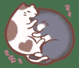 Cat weather sticker #1188171
