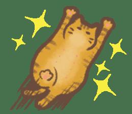 Cat weather sticker #1188174