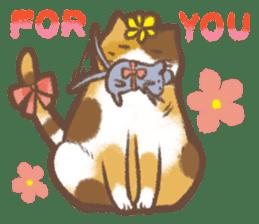 Cat weather sticker #1188176