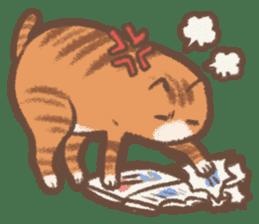 Cat weather sticker #1188178