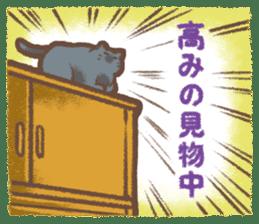 Cat weather sticker #1188185