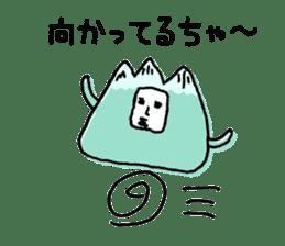 mountain man sticker #1188713