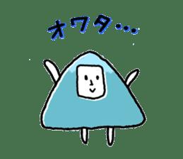 mountain man sticker #1188719