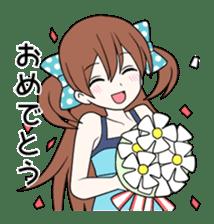 Cheerful moe girl, Meitan! sticker #1190682