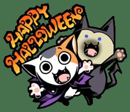 Nyagoes in Halloween sticker #1191026