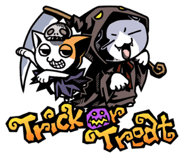 Nyagoes in Halloween sticker #1191027