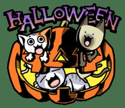 Nyagoes in Halloween sticker #1191028
