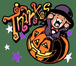 Nyagoes in Halloween sticker #1191029