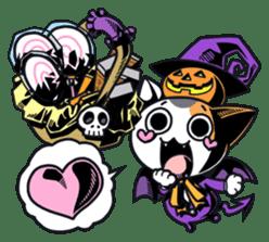 Nyagoes in Halloween sticker #1191030