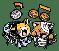 Nyagoes in Halloween sticker #1191031