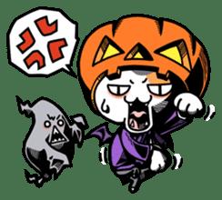 Nyagoes in Halloween sticker #1191032