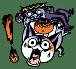 Nyagoes in Halloween sticker #1191033