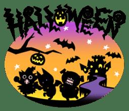 Nyagoes in Halloween sticker #1191035