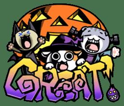 Nyagoes in Halloween sticker #1191036