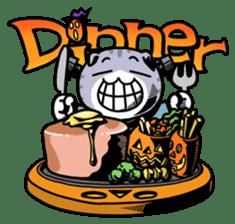 Nyagoes in Halloween sticker #1191040
