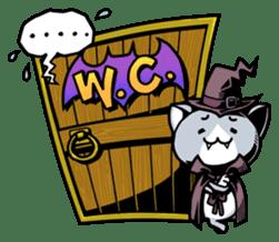 Nyagoes in Halloween sticker #1191041