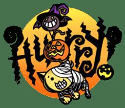 Nyagoes in Halloween sticker #1191042