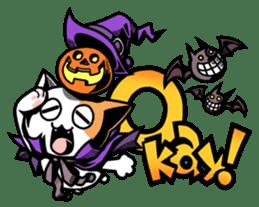 Nyagoes in Halloween sticker #1191043