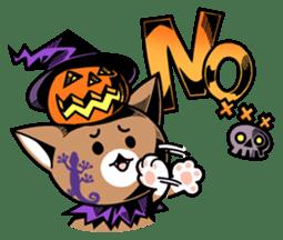 Nyagoes in Halloween sticker #1191044
