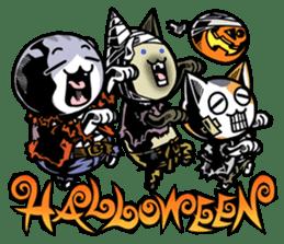 Nyagoes in Halloween sticker #1191047
